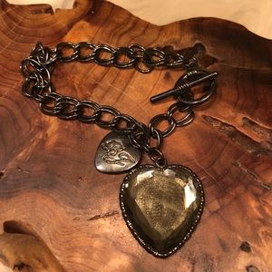 Betsey Johnson 💛 Heart Bracelet